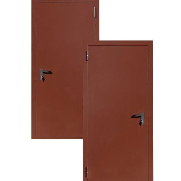 Дверь противопожарная (EI-60) окрас порошковое напыление СП501