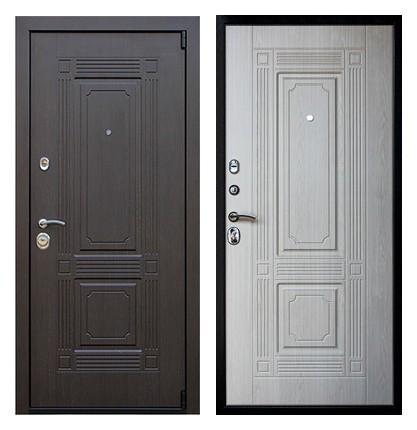 Металлическая входная дверь 3 контура СП168
