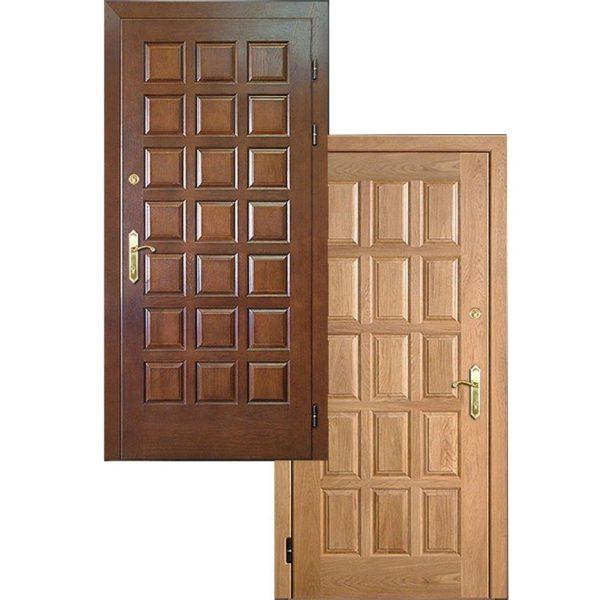 Входная дверь МАССИВ ДУБА + МАССИВ ДУБА СП417