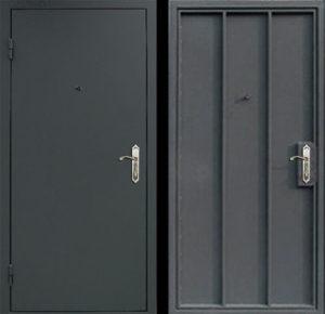 Дверь техническая, нитроэмаль СП520