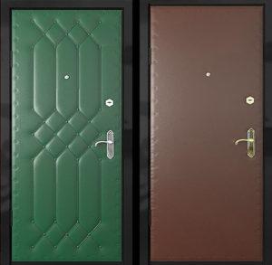 Входная металлическая дверь винилискожа СП290