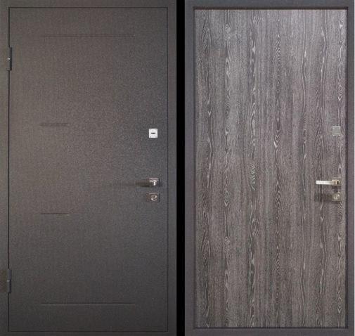 Входная металлическая дверь порошок + ламинат СП028